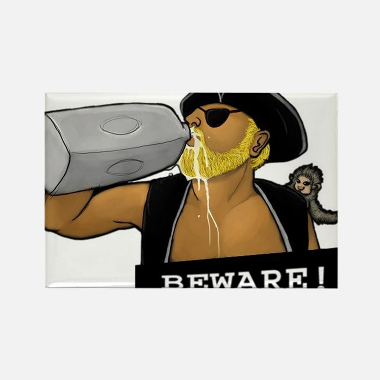 Milky Pirate Beware White Magnets