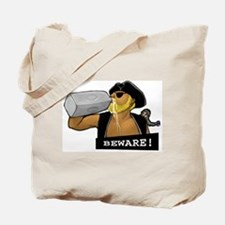 Unique Beware Tote Bag