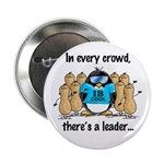 In Every Crowd Penguin Button