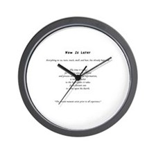 Now Is Later Wall Clock