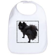 Black Pomeranian Bib