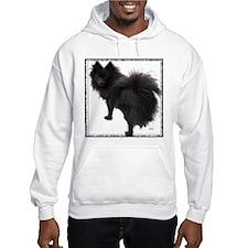 Black Pomeranian Hoodie