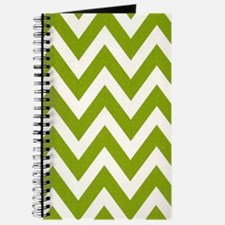 Chartreuse Chevron Journal