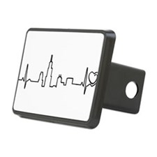 Chicago Heartbeat (Heart) Hitch Cover