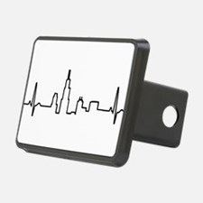 Chicago Heartbeat Hitch Cover