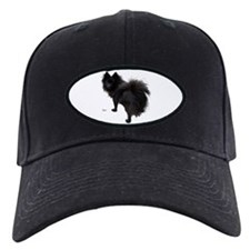 Black Pomeranian Baseball Hat