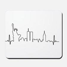 New York Heartbeat Mousepad