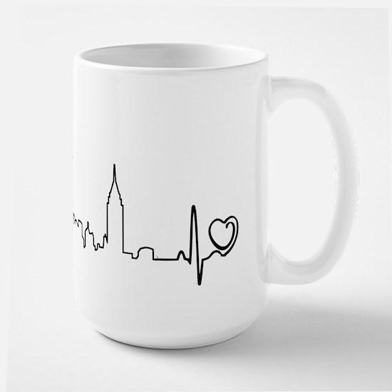 New York Heartbeat (Heart) Mug