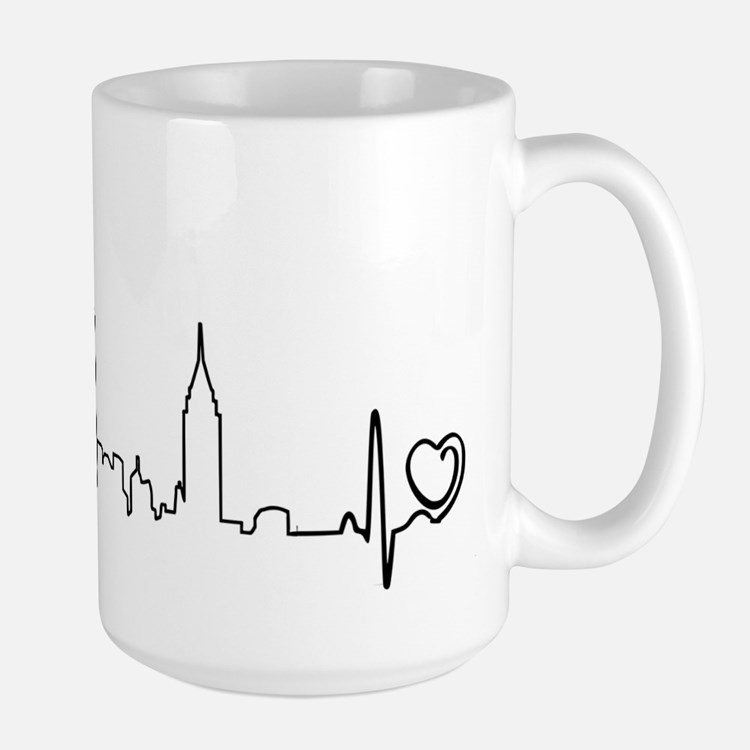 New York Heartbeat (Heart) Mug