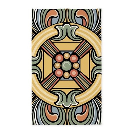 Celetic abstract 3'x5' Area Rug