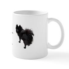 Black Pomeranian Mug
