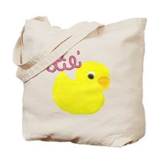 Lil Duck Pink Tote Bag