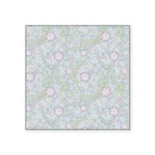 Lace Garden Square Sticker 3 x 3