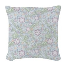 Lace Garden Woven Throw Pillow