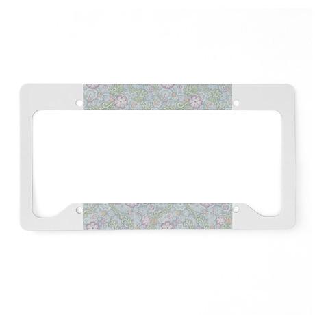 Lace Garden License Plate Holder
