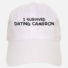 Survived Dating Cameron Baseball Baseball Cap