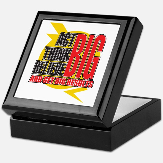 Big Affirmations Keepsake Box