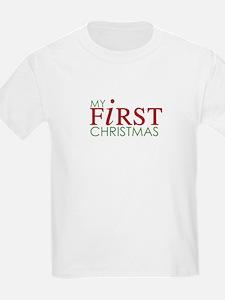 My First Christmas Kids T-Shirt
