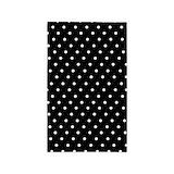 3x5 black and white polka dot 3x5 Rugs