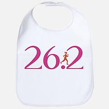 26.2 Marathon Run Like A Girl Bib