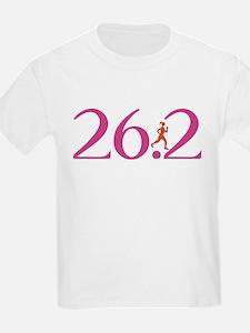 26.2 Marathon Run Like A Girl T-Shirt