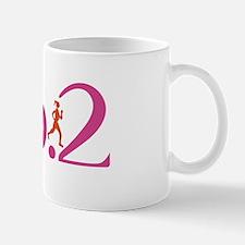 26.2 Marathon Run Like A Girl Mug