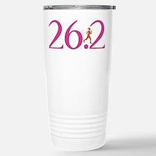 26.2 Marathon Run Like A Girl Travel Mug