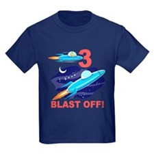 Outer Space 3rd Birthday T