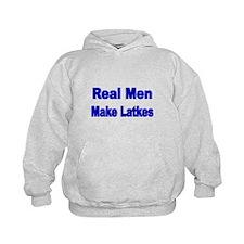 REAL MEN MAKE LATKES Hoodie