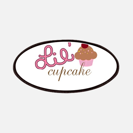 Lil Cupcake Pink and Brown Cupcake Patches