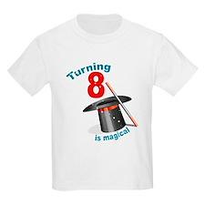 Magic Party 8th Birthday T-Shirt
