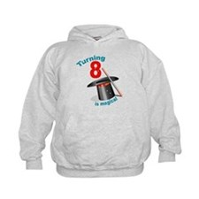 Magic Party 8th Birthday Hoodie
