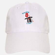 Magic Party 8th Birthday Baseball Baseball Cap