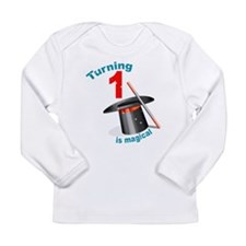 Magic Party 1st Birthday Long Sleeve Infant T-Shir