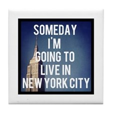 Someday I'm Going To Live In New York City Tile Co