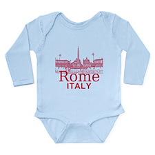 Rome Long Sleeve Infant Bodysuit