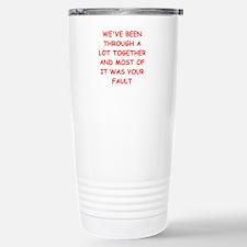 blame Travel Mug