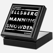 Ellsberg Manning Snowden Keepsake Box
