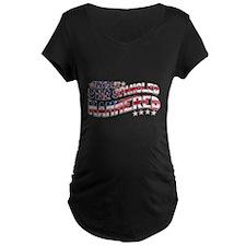Star Spangled Hammered Maternity T-Shirt