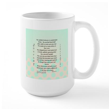 Retired Nurse Poem Mug
