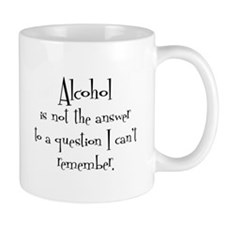Wshirt Not the Answer Mug