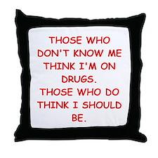 insane Throw Pillow