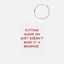 BROWNIES Keychains