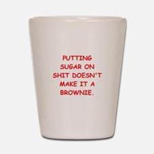 BROWNIES Shot Glass