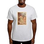 """Footsteps of Love"" Ash Grey T-Shirt"