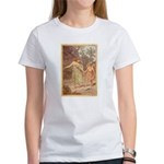 """Footsteps of Love"" Women's T-Shirt"