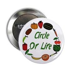 "Produce Circle Of Life 2.25"" Button"