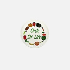 Produce Circle Of Life Mini Button