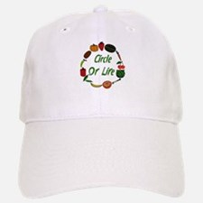 Produce Circle Of Life Baseball Baseball Cap