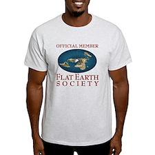 Flat Earth Society - T-Shirt